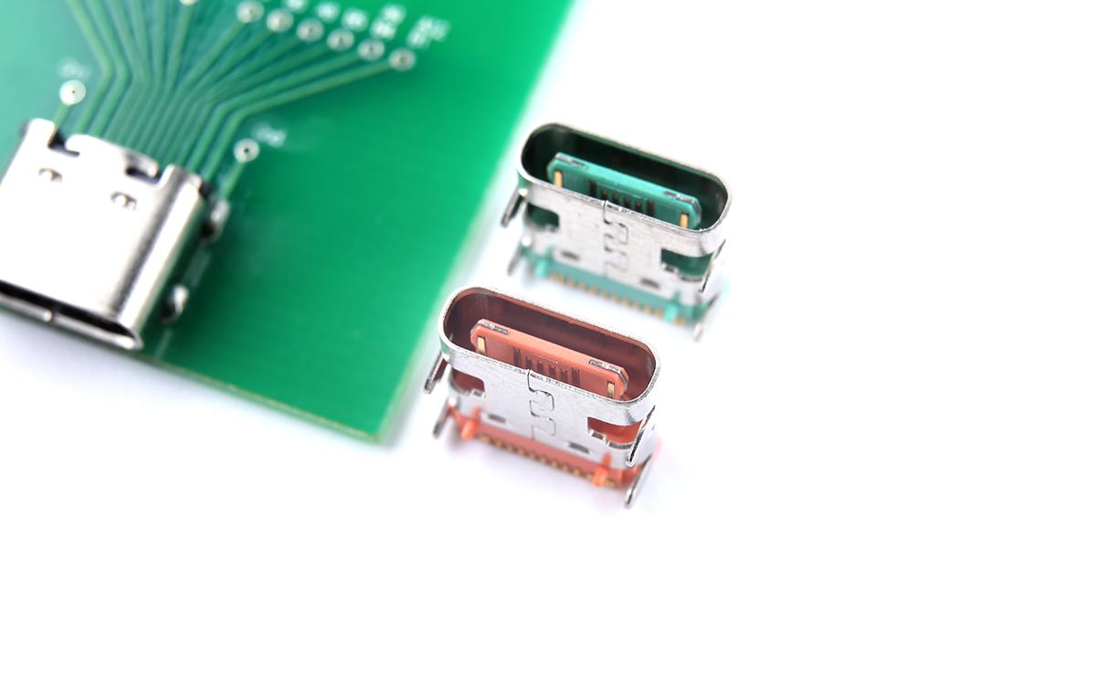 顺宏康科技 推出三款彩色USB Type-C母座